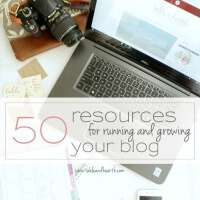 AWESOME list of blogging resources!!! Everything from hosting to photography to social media. Whether you're brand new to blogging or have been at it for years, this is a great comprehensive list of ways to maintain and promote your blog!