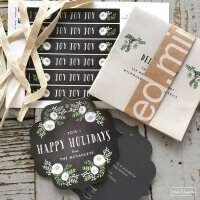 GORGEOUS holiday cards from Minted! Unique and versatile styles to fit anyone's taste and budget