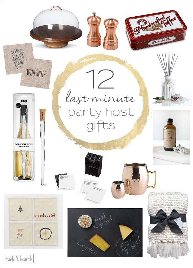 12 last-minute host/hostess gift ideas | table and hearth
