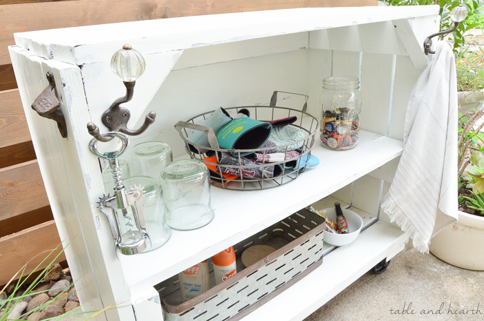Wow!!! See How This Blogger Took A Beat Up Old Bookcase And Transformed