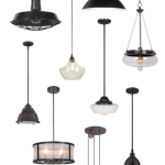 HOW TO CHOOSE THE RIGHT PENDANT LIGHTS FOR YOUR SPACE - A list of things to consider in picking the right pendant lighting for your space, plus a collection of great farmhouse-inspired options! www.tableandhearth.com