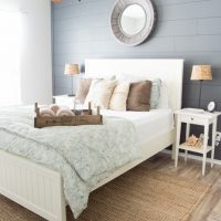 Beautiful Coastal Farmhouse tour! Weathered finishes, DIY touches, and neutral colors make this coastal Texas home a retreat. www.tableandhearth.com