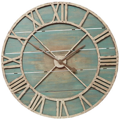 Warm up your home decor with beautiful rustic wood pieces from The Wood Shop at Pier 1! www.tableandhearth.com