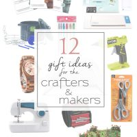 Holiday Shopping Guide for Crafters and Makers - 12 perfect gifts for the crafter and maker!