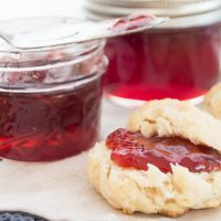 This tangy and sweet American beautyberry jelly makes good use of the berries from this southern US native shrub!