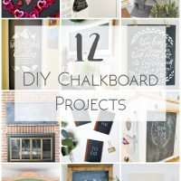 12 Creative DIY Chalkboard Projects