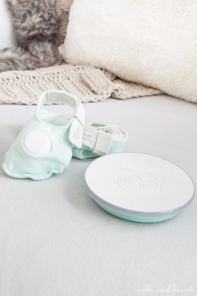 A MUST for new baby! This little sock is invaluable for new parents! www.tableandhearth.com