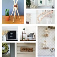 10 easy projects using wooden dowels!