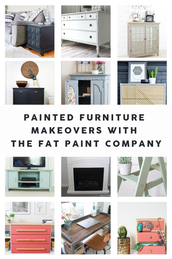Check out these amazing furniture makeovers using FAT Paint!